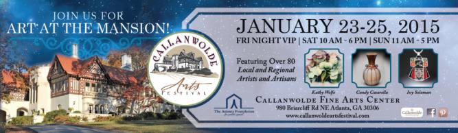 Callanwolde Arts Festival Banner